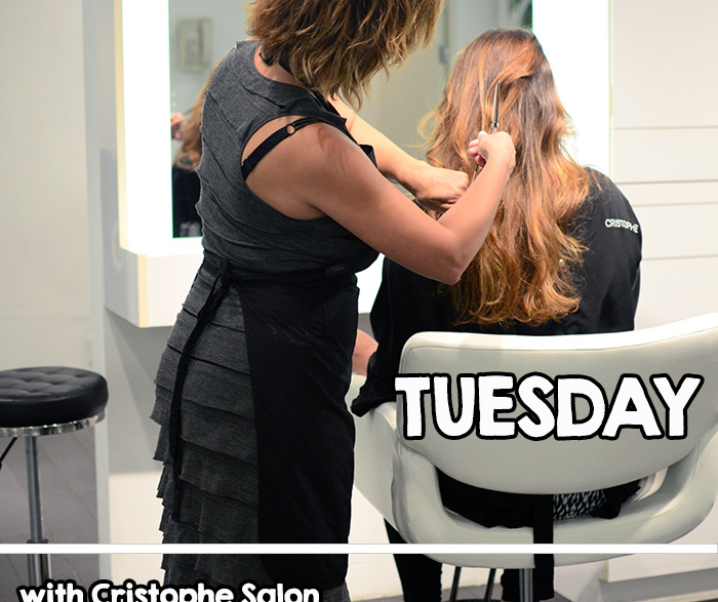 {new video} Transformation Tuesday with Cristophe Salon