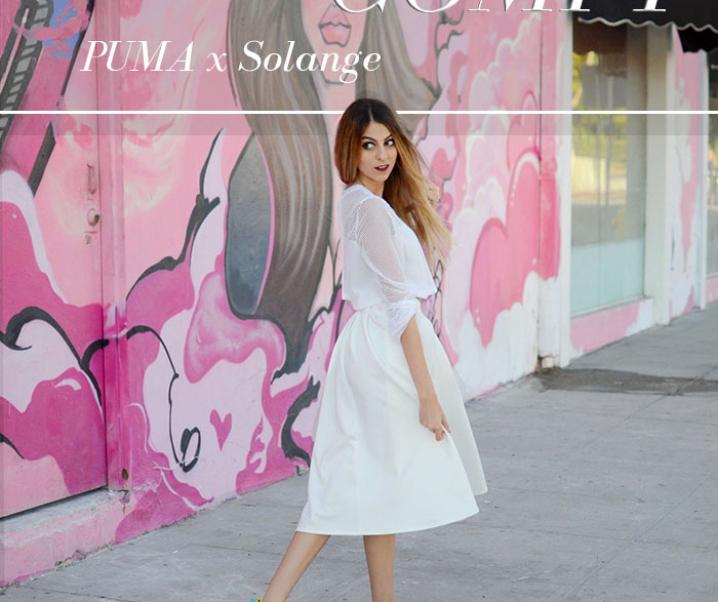 Colorfully Comfy: PUMA x Solange