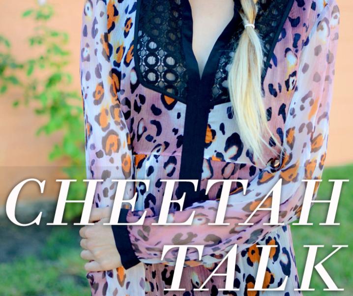 Cheetah Talk