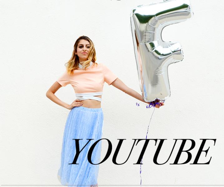 Fashionlaine Takes YouTube!