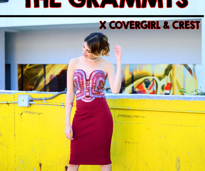 My Date With The Grammys: COVERGIRL & Crest