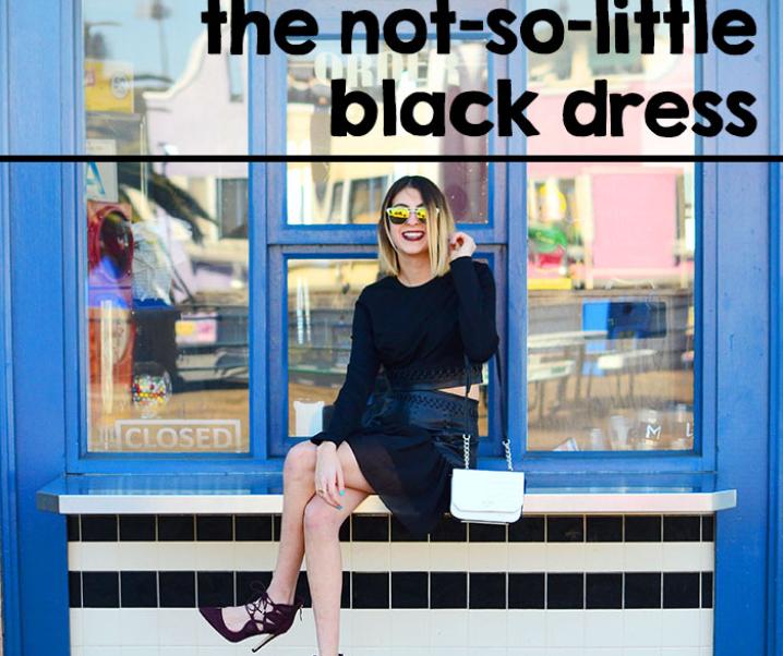 Love Series: The Not-So-Little Black Dress