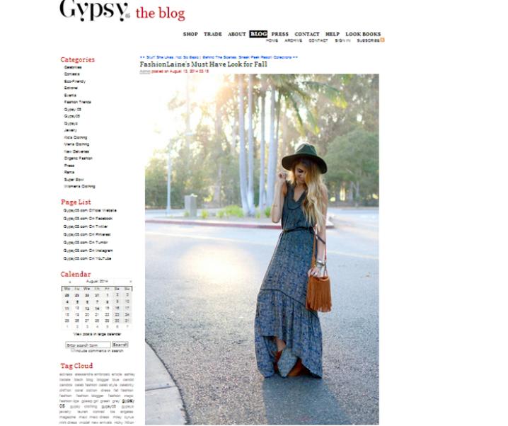 Gypsy05 Blog Feature