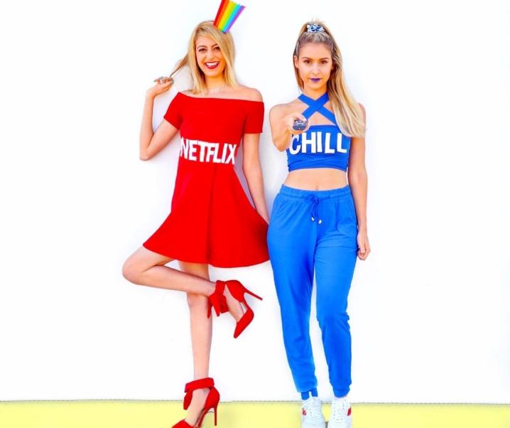 HALLOMONTH 2018: Netflix & Chill Bestie Costume
