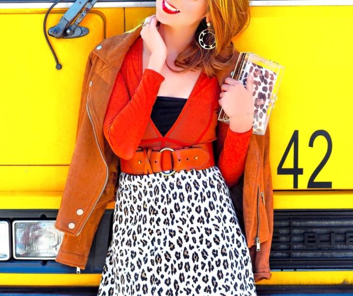 Cheetah Girl: The Mini Skirt
