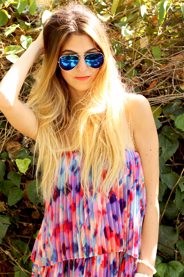 ombre hair for spring