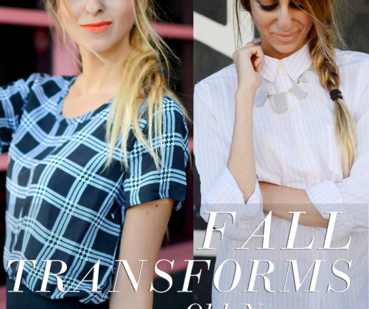 Fall Transforms x Old Navy