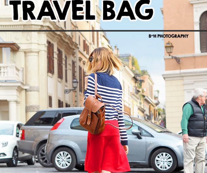 My Go-To European Travel Bag