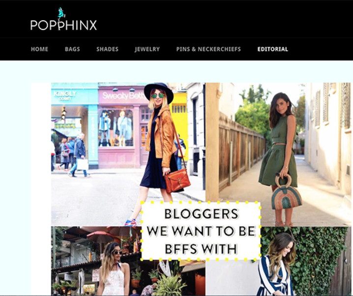 Popphinx: Bloggers We Want To Be BFFs With