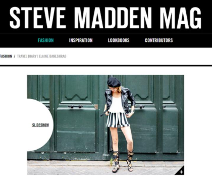 Steve Madden Mag: Travel Diary Pt 1