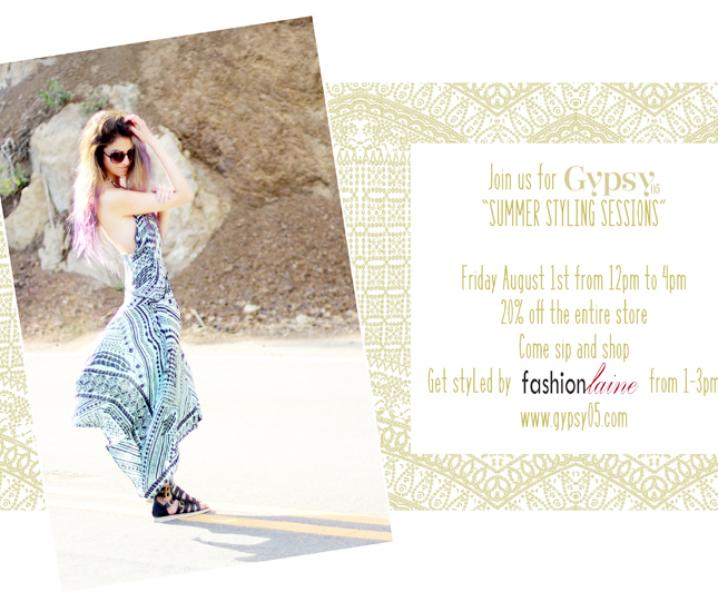 Fashionlaine x Gypsy05 Summer Styling Session