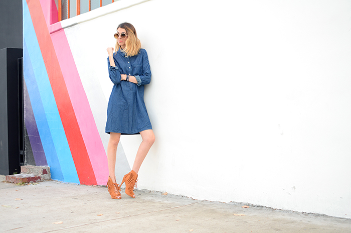 alexa chung jean dress