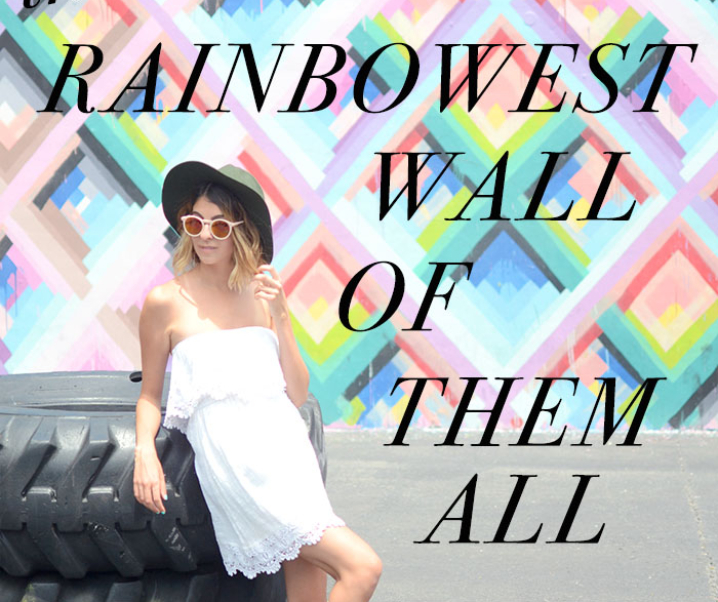 The Rainbowest Wall of Them All