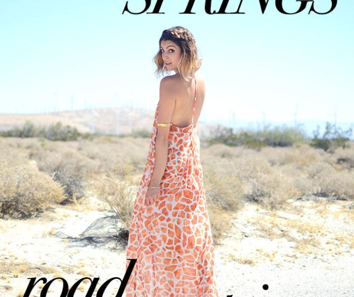 A Palm Springs Road Trip: Reyal Fashion + Fashionlaine