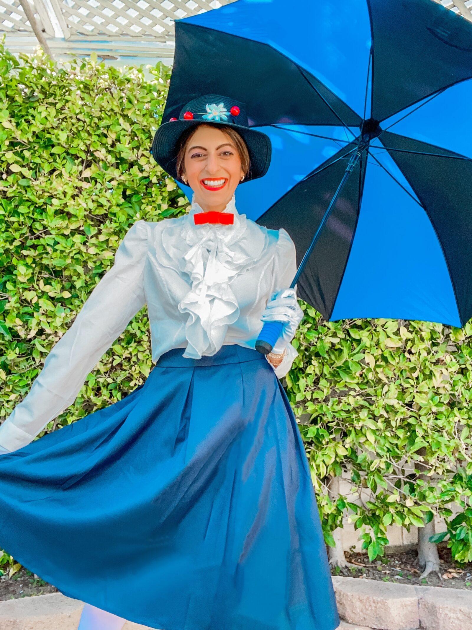 mary poppins costume diy