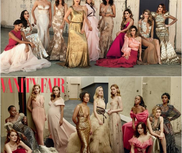 The Social Edition: Vanity Fair Oscars Inspired Photoshoot