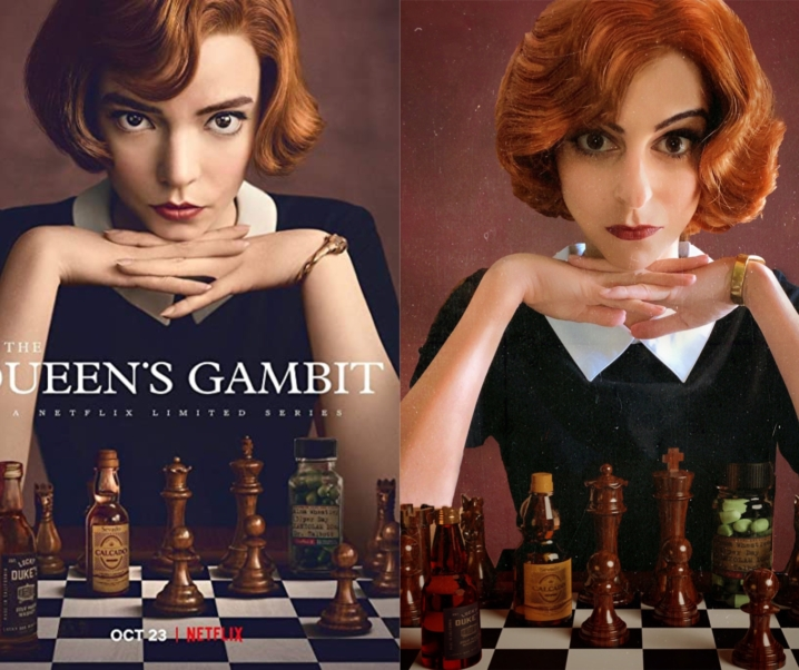 The Queen's Gambit Costume DIY